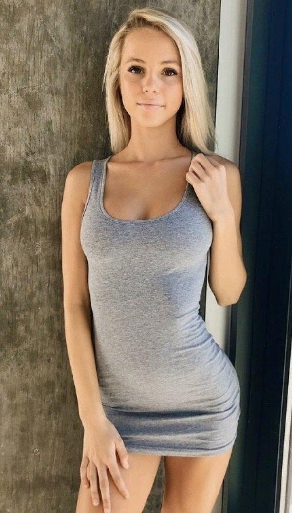 ass Young blond