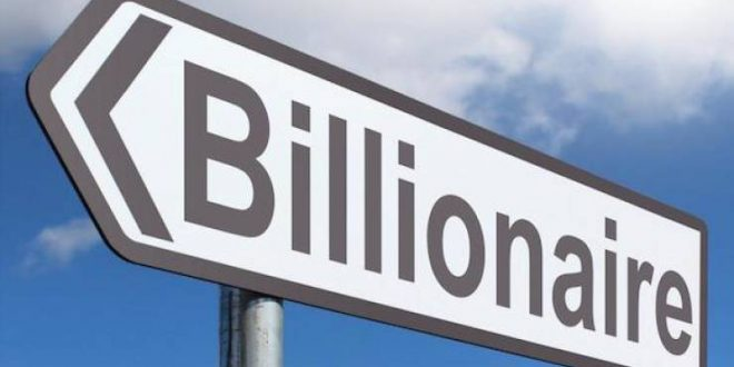 15 Countries With The Biggest Billionaire Population