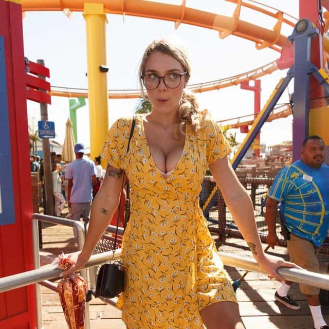 Gabbie Carter Желтое Платье