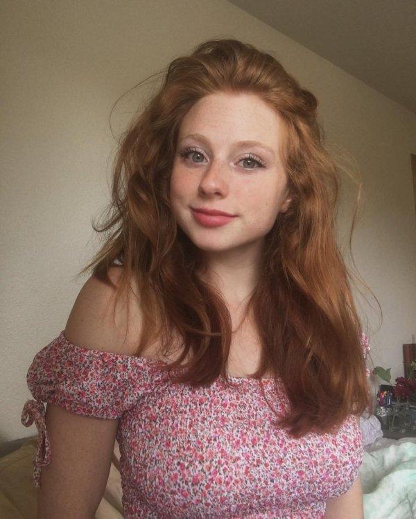 Redhead Teen Tits