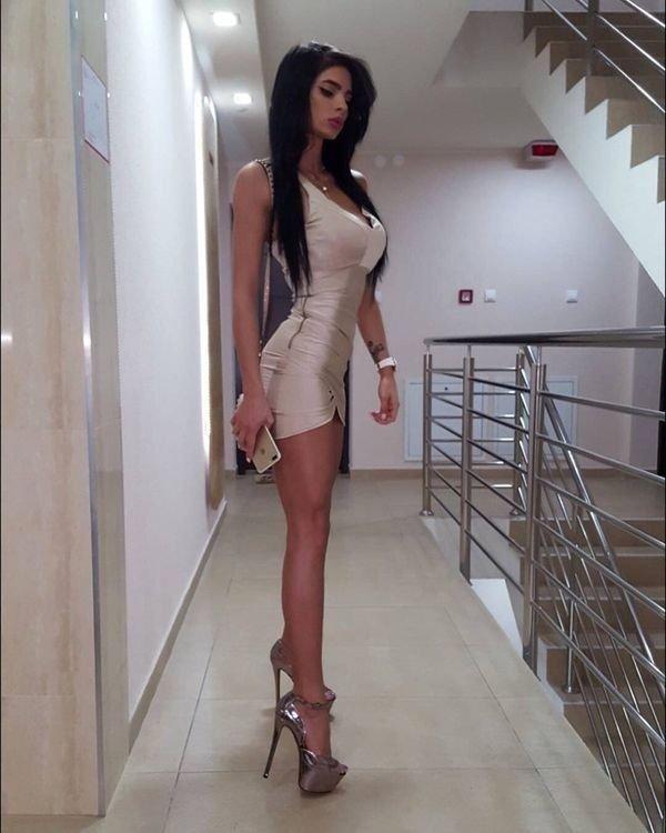 Sexy Girl In High Heels