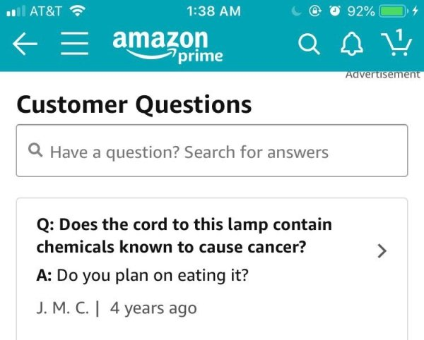 25 Not Very Useful Amazon Reviews And Replies
