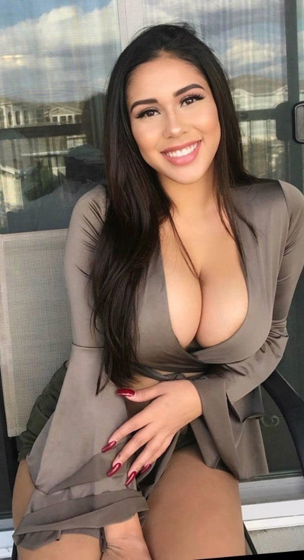 Busty woman