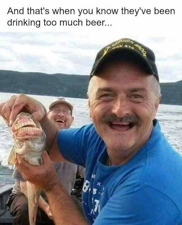 30 Funny Fishing Memes That Didn't Get Away