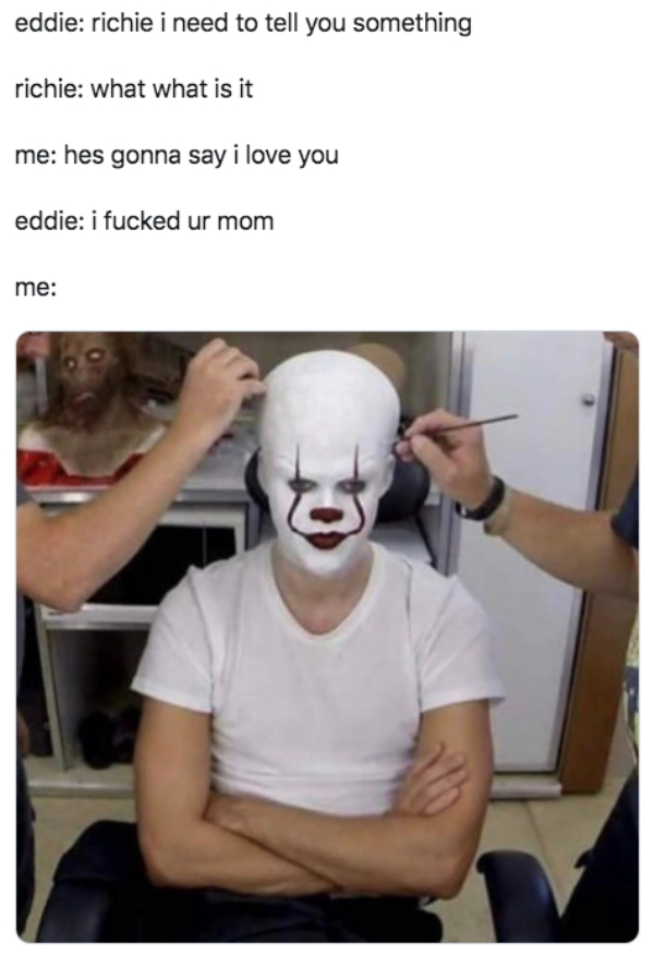 29 Hilarious Memes From 'IT Chapter 2' - Barnorama