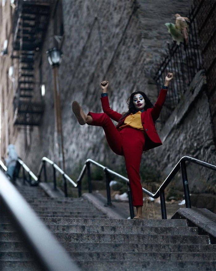 """The Joker"" Stairs In New York Have Become A Big Tourist"