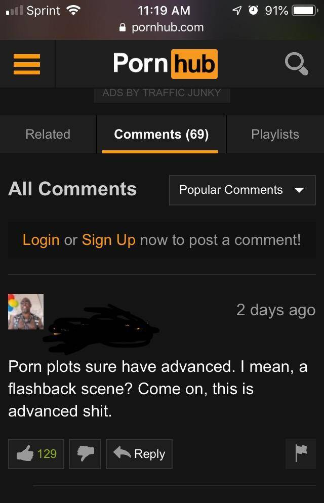 Funny porn comments