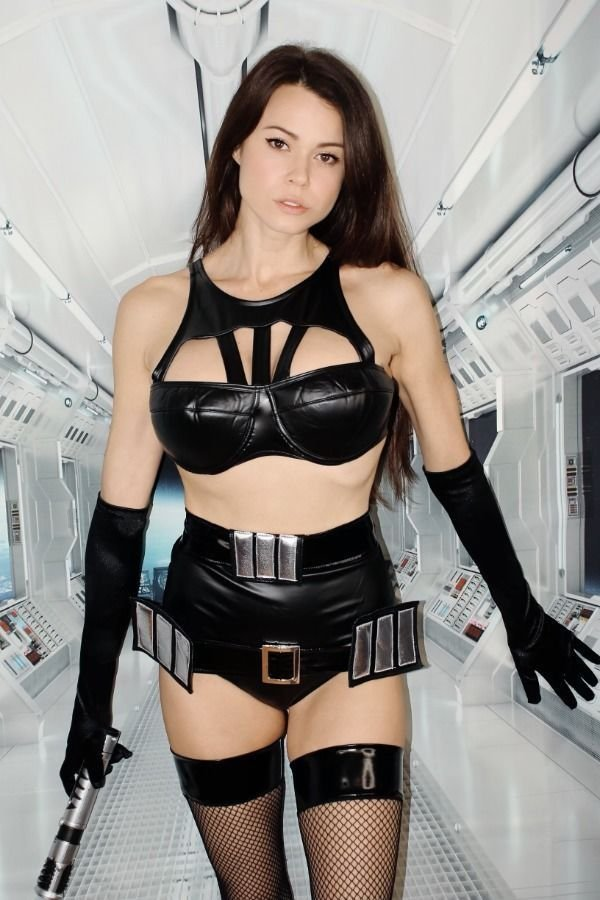 Bryci Sexy Star Wars Cosplay (12 photos) - cosplaygirls.net