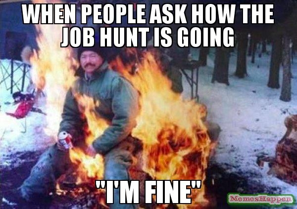 27 funny and accurate memes about job hunting