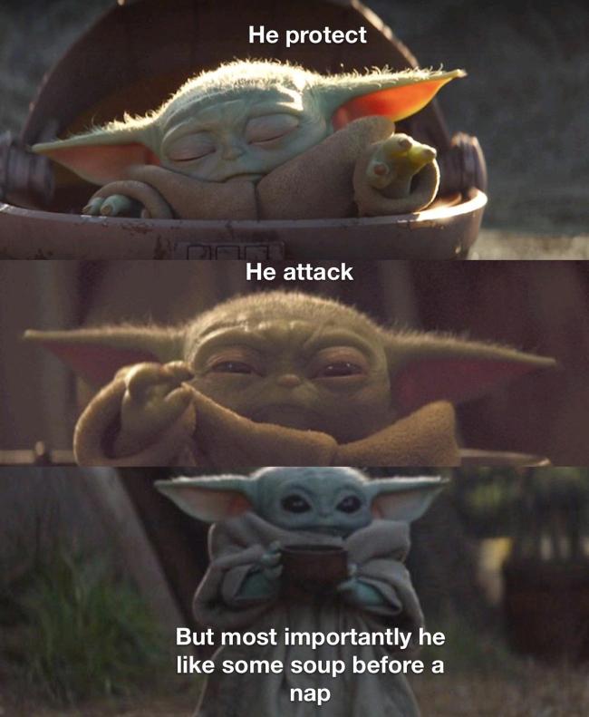 30+ Funny Baby Yoda Memes - Barnorama