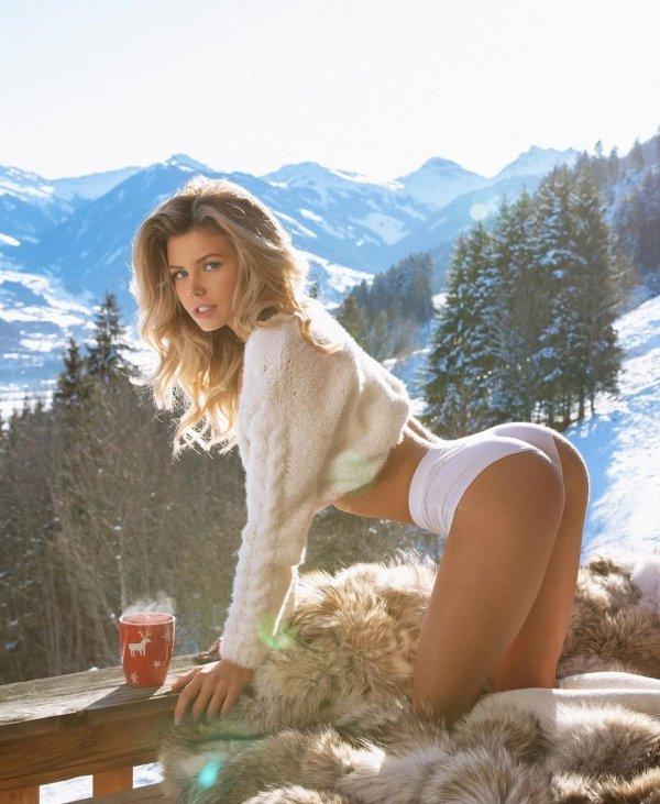 Hot girls bent at the waist