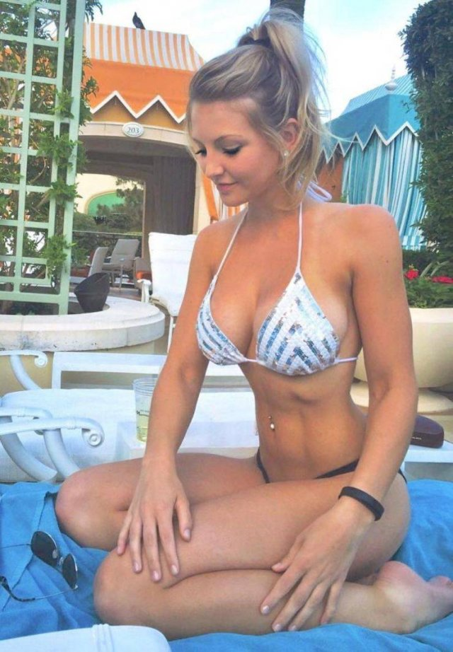 bikini string Teens in