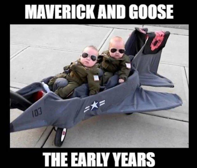 """36 Funny """"Top Gun"""" Memes"""