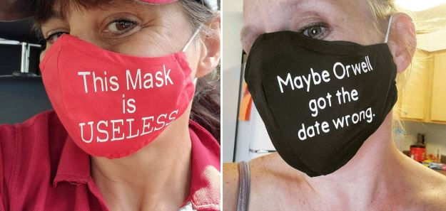 21 Special Masks For Anti-Maskers
