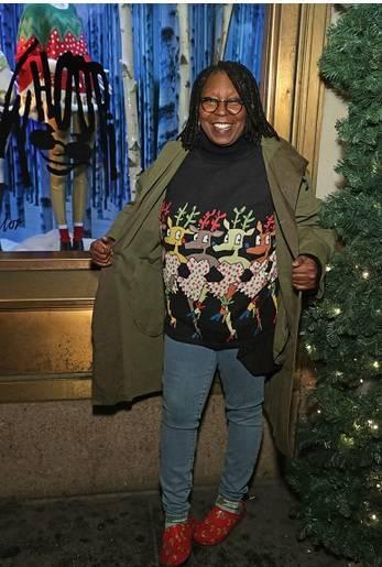 21 знаменитость, которая любит носить «некрасивые» рождественские свитера - Barnorama