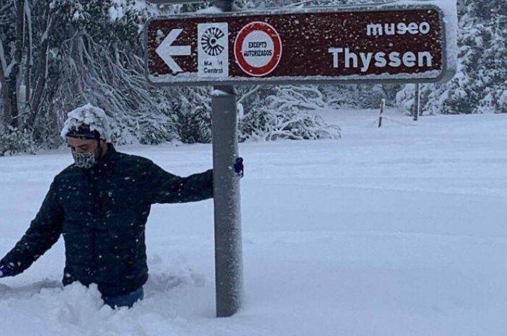 Самый большой снегопад в Испании почти за 50 лет!  — Барнорама
