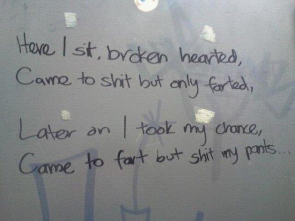 35 веселых настенных надписей в ванной - Barnorama