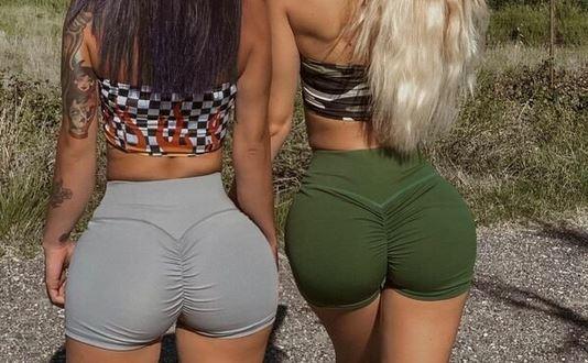 Самые горячие девушки в штанах для йоги — Barnorama