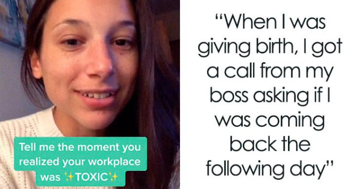30 моментов, когда люди понимали, что рабочее место было токсичным — Барнорама