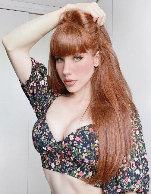 Самые горячие рыжие девушки в сети - Barnorama