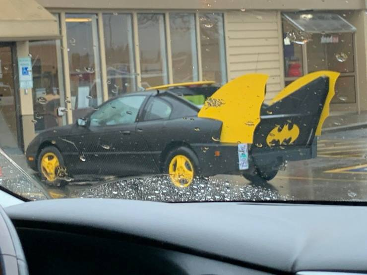 41 веселая фотография из «автомобильного юмора» — Barnorama